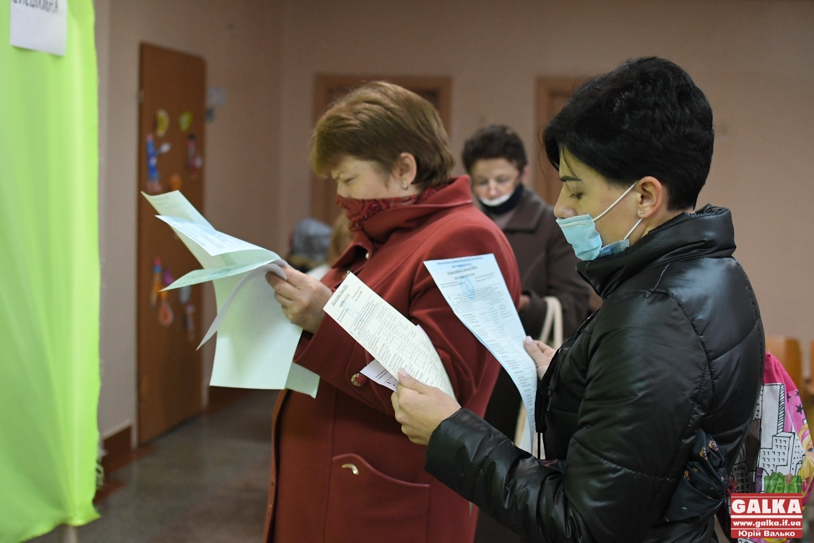 Явка виборців у Франківську станом на 20 годину – 39%