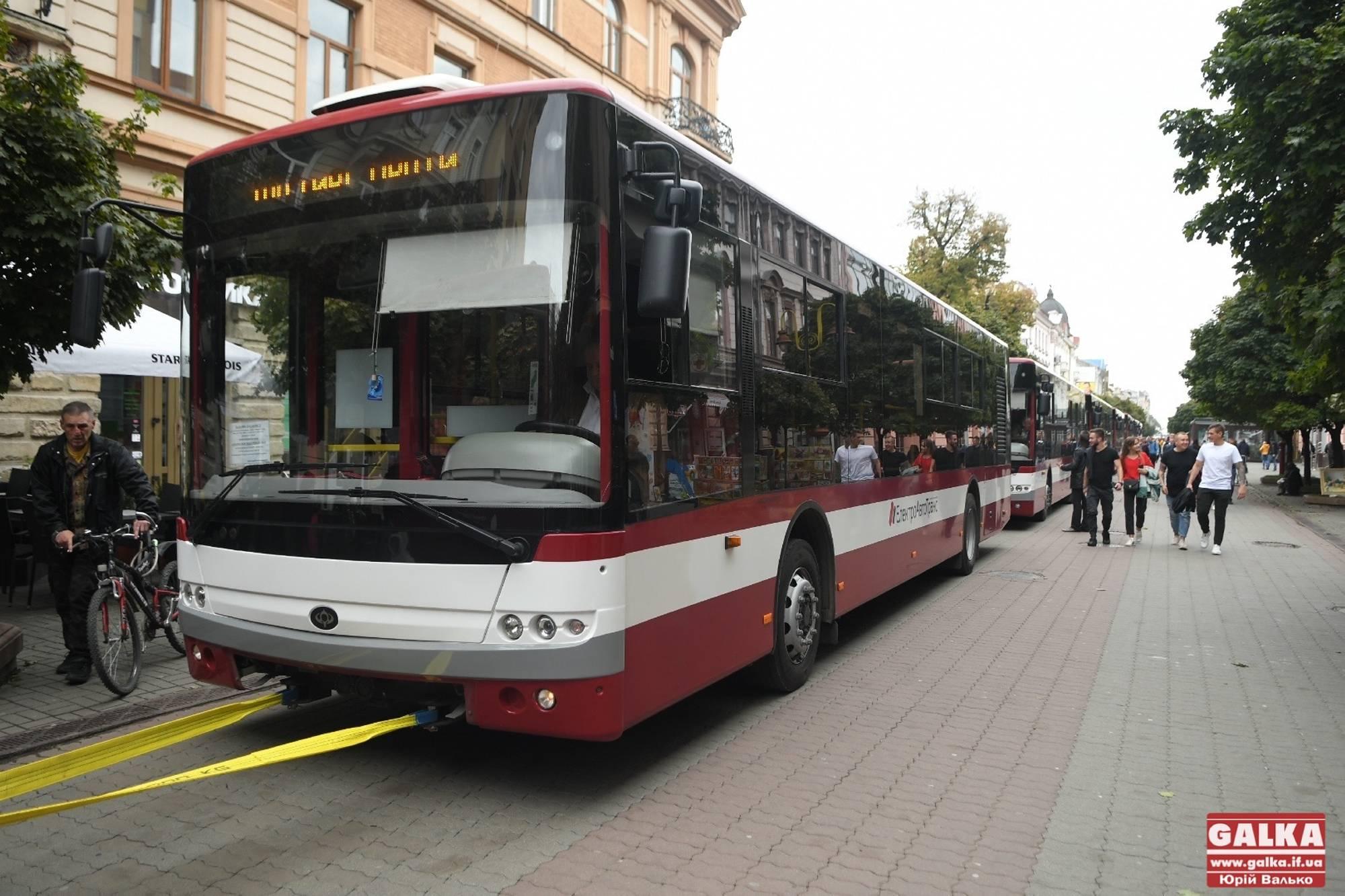 24 серпня франківці та гості міста у вишиванках можуть не платити за проїзд у комунальному транспорті
