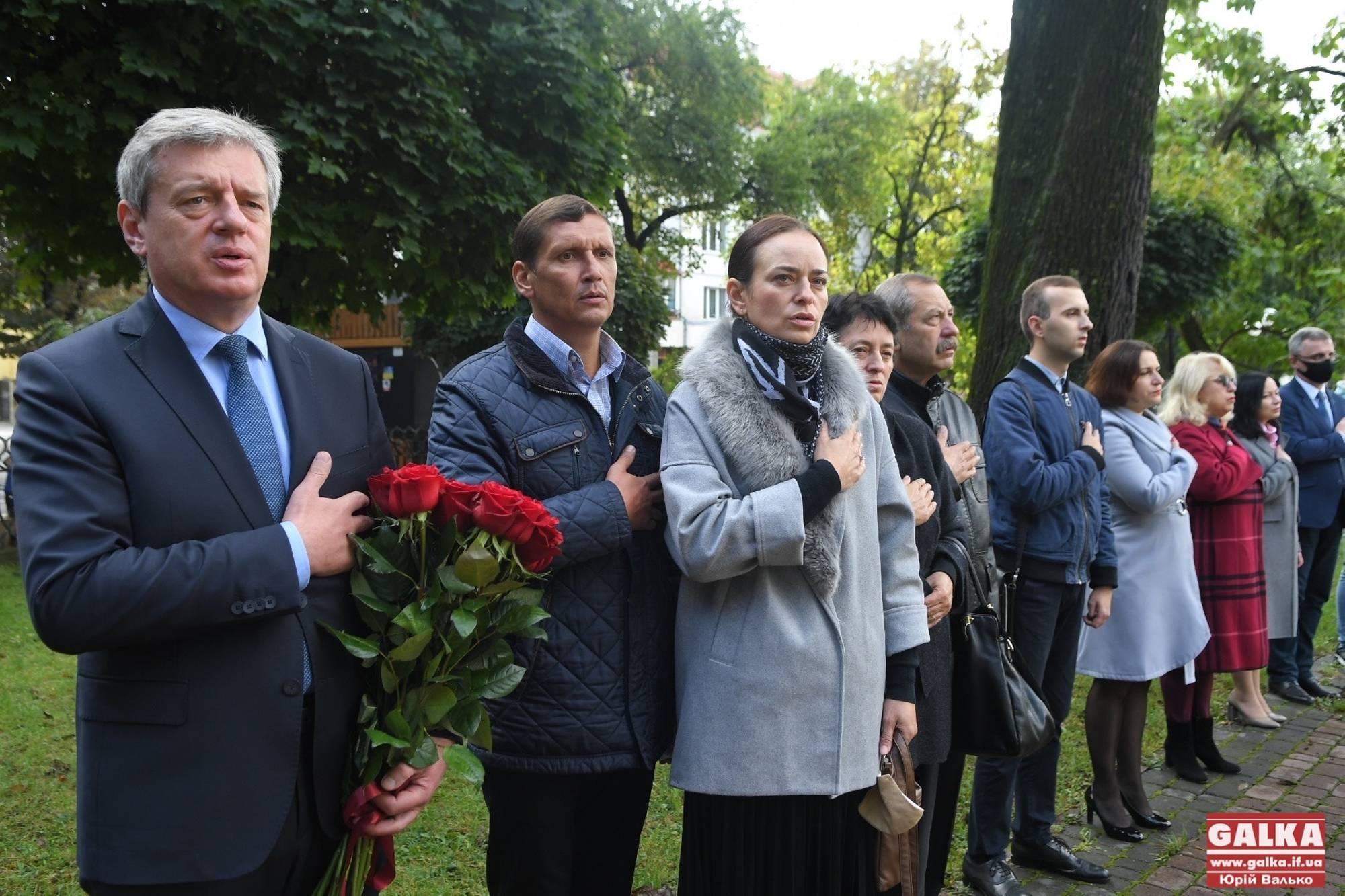 Любіть Україну, як любив її він: пам'ять Романа Гурика вшанували в Івано-Франківську (ФОТО)