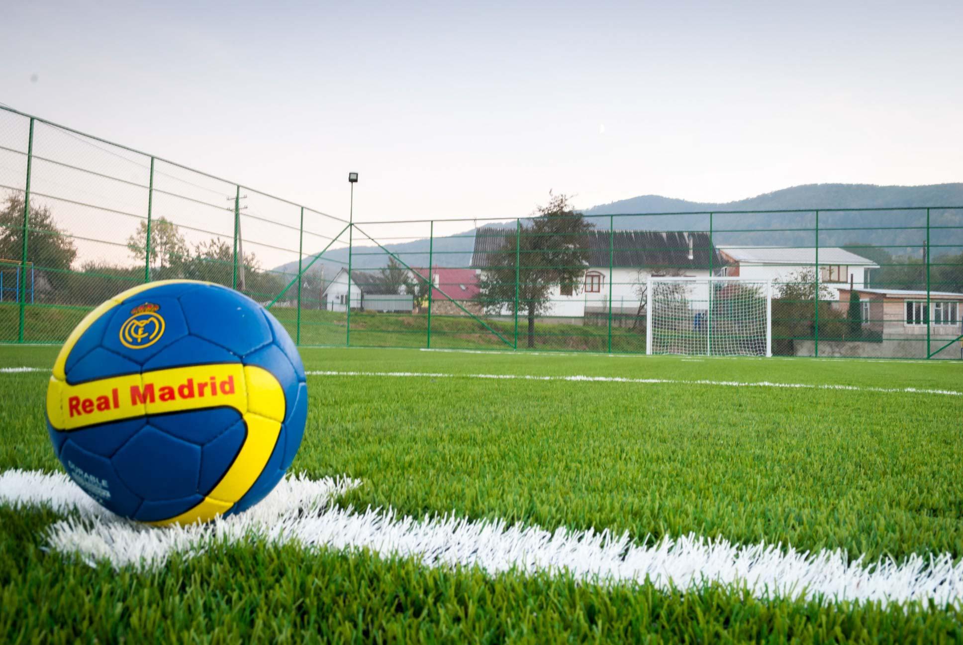 Футбольний майданчик відкрили в Косові (ФОТО)