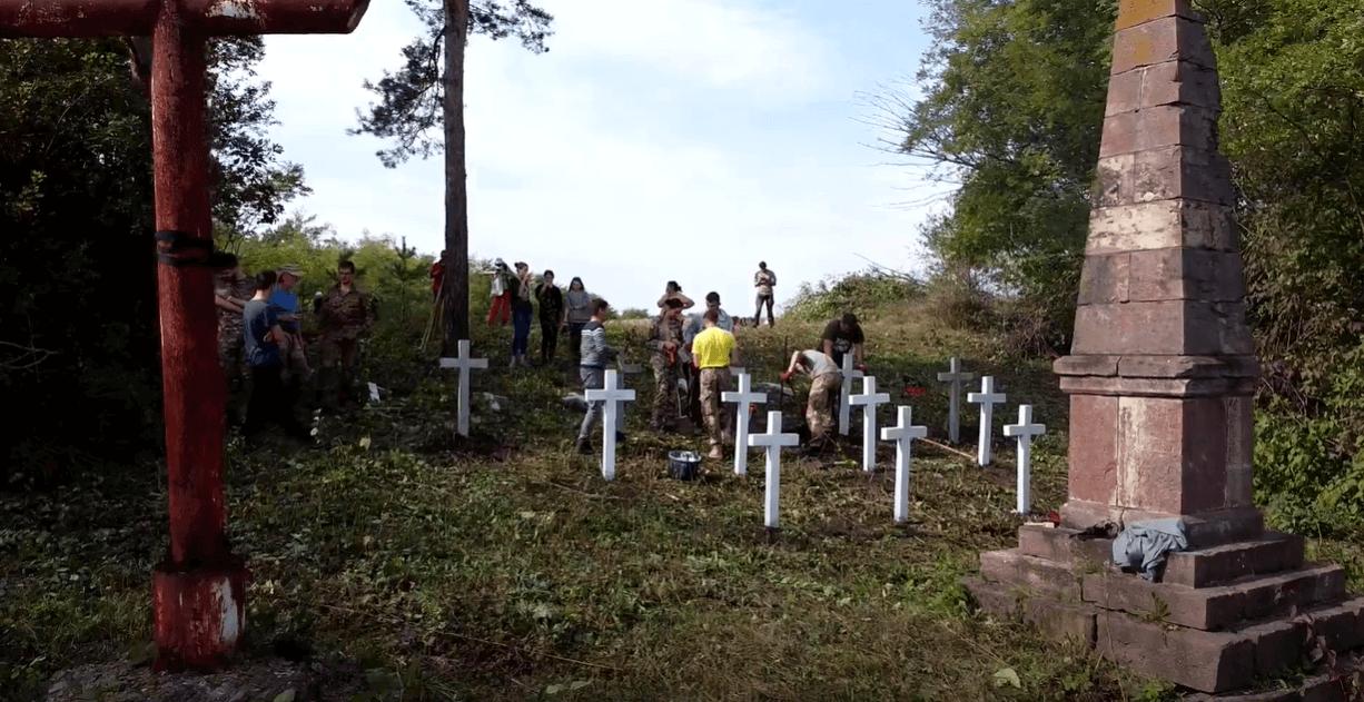 Вийськовий цвинтар Першої світової впорядкували на Городенківщині (ВІДЕО)