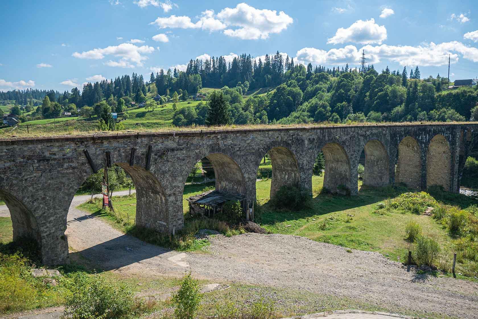 Ворохта – це Європа: як у гуцульському селі з'явився один з найбільших віадуків Старого Світу (ФОТО, ВІДЕО)