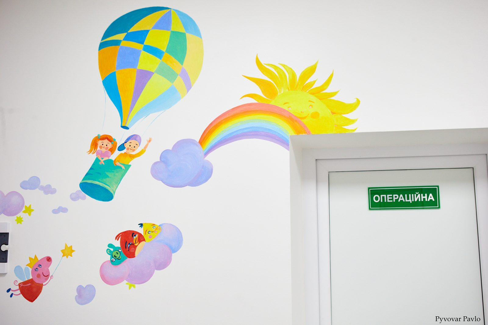 У Франківській дитячій поліклініці відкрили оновлений кабінет (ФОТО)