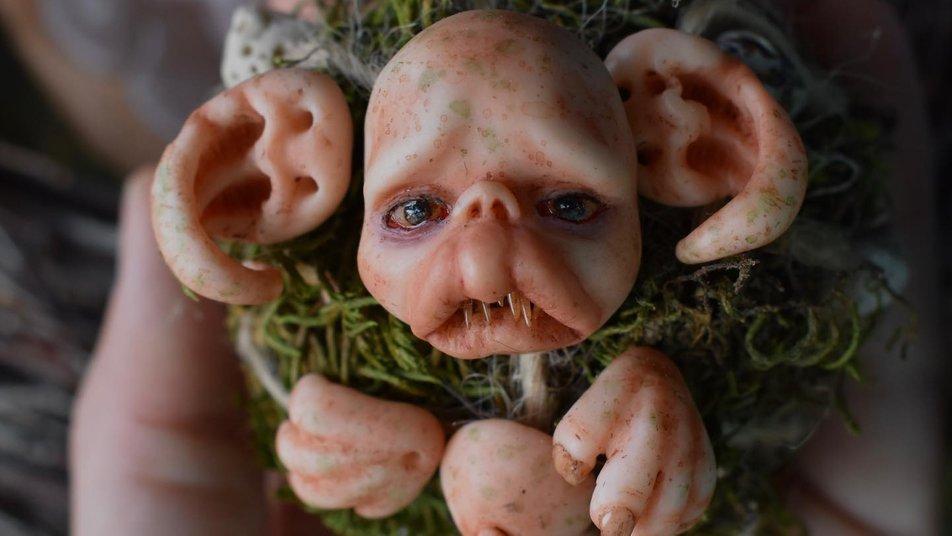 Ельфи, шамани, мавки: прикарпатка створює містичні ляльки (ФОТО, ВІДЕО)