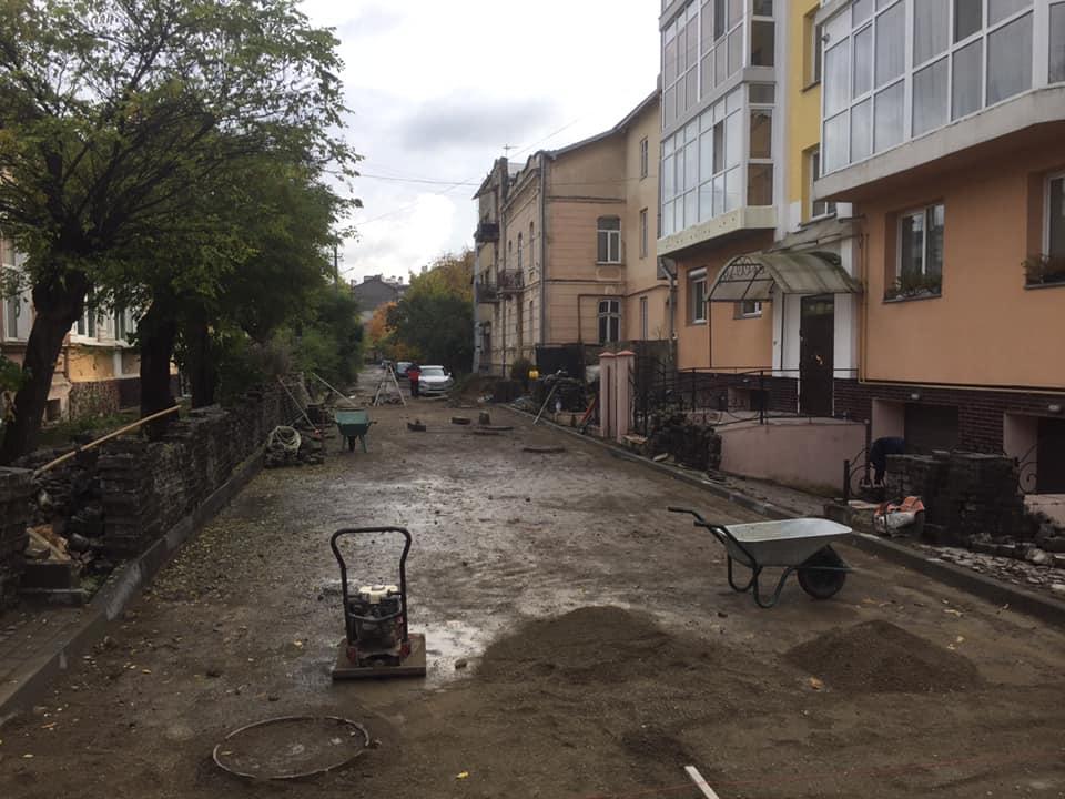 У Франківську учергове намагаються відремонтувати вулицю Коперніка (ФОТО)