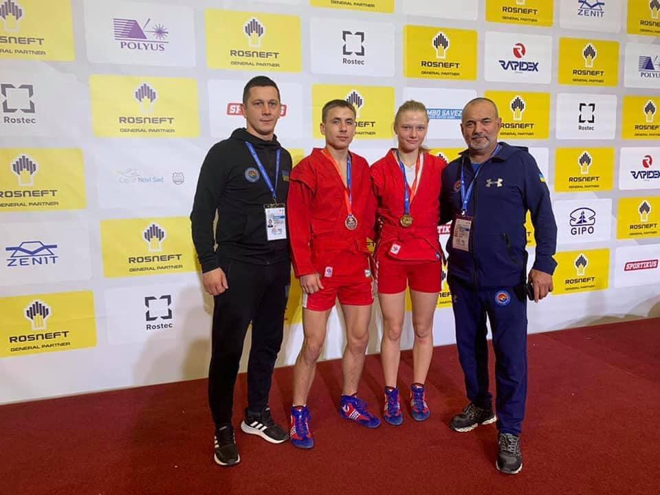 Прикарпатська самбістка — чемпіонка світу (ФОТО)