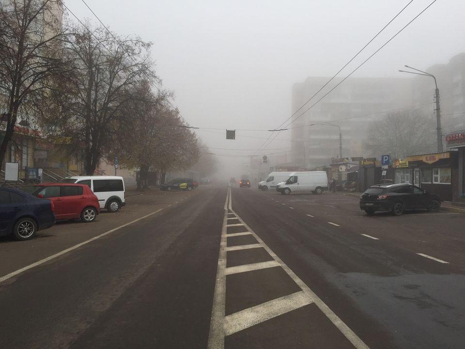 На Прикарпатті знову буде туманно.Видимість 100-500 метрів