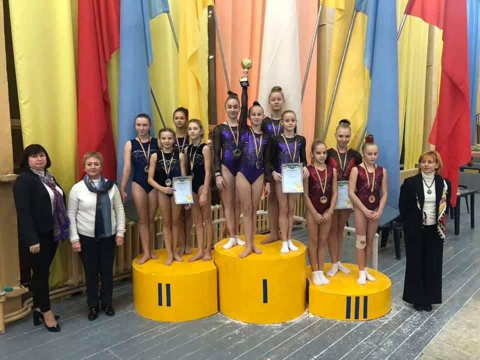 Юні франківські гімнастки – чемпіонки України (ФОТО)