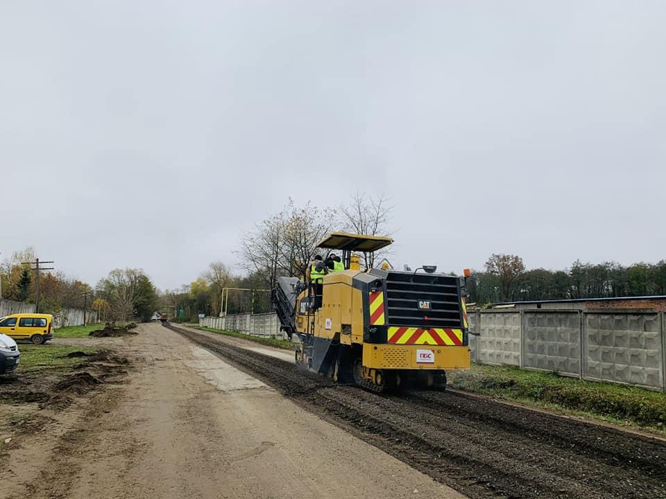 Ремонт дороги Надвірна – Ланчин триває на Франківщині (ФОТО)
