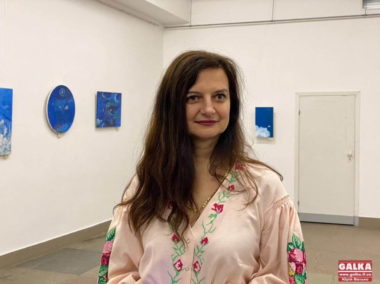 """""""Відчуття"""": франківська гінекологиня презентувала другу персональну виставку картин (ФОТО)"""