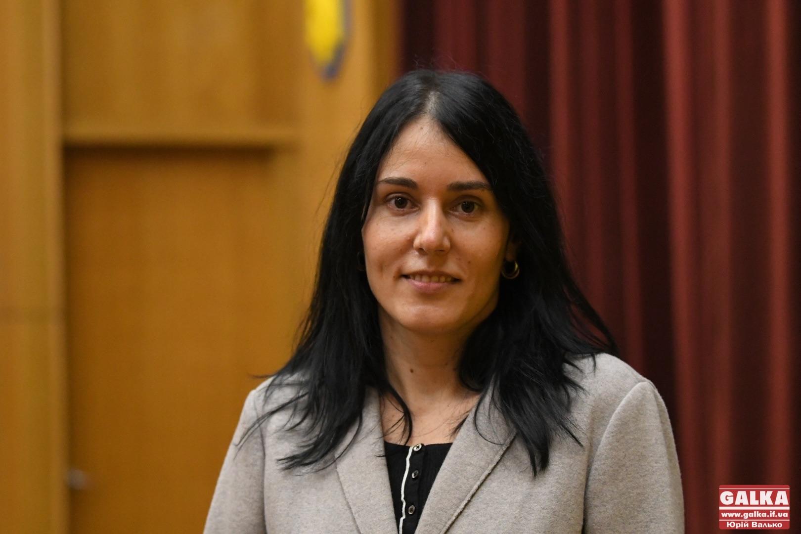 Лідія Чекайло стала заступницею голови Івано-Франківської районної ради (ФОТО)