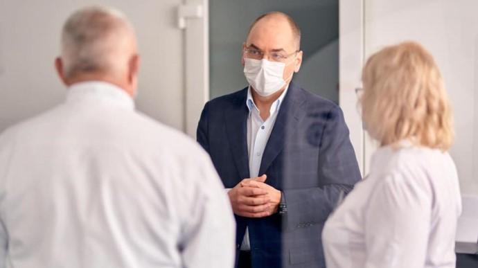 Міністр охорони здоров'я Степанов заразився коронавірусом (ВІДЕО)