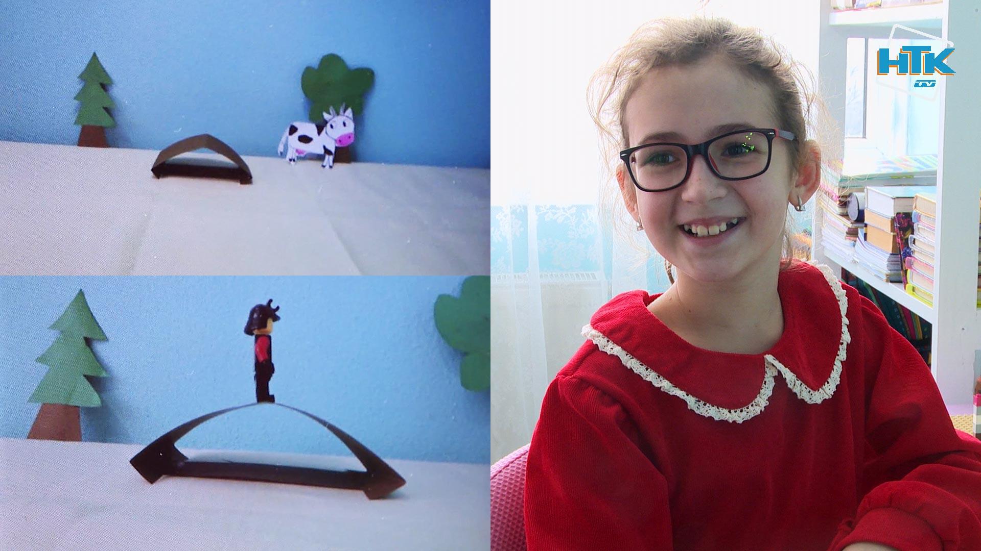 10-річна дівчинка з Коломиї створює власні мультфільми (ВІДЕО)