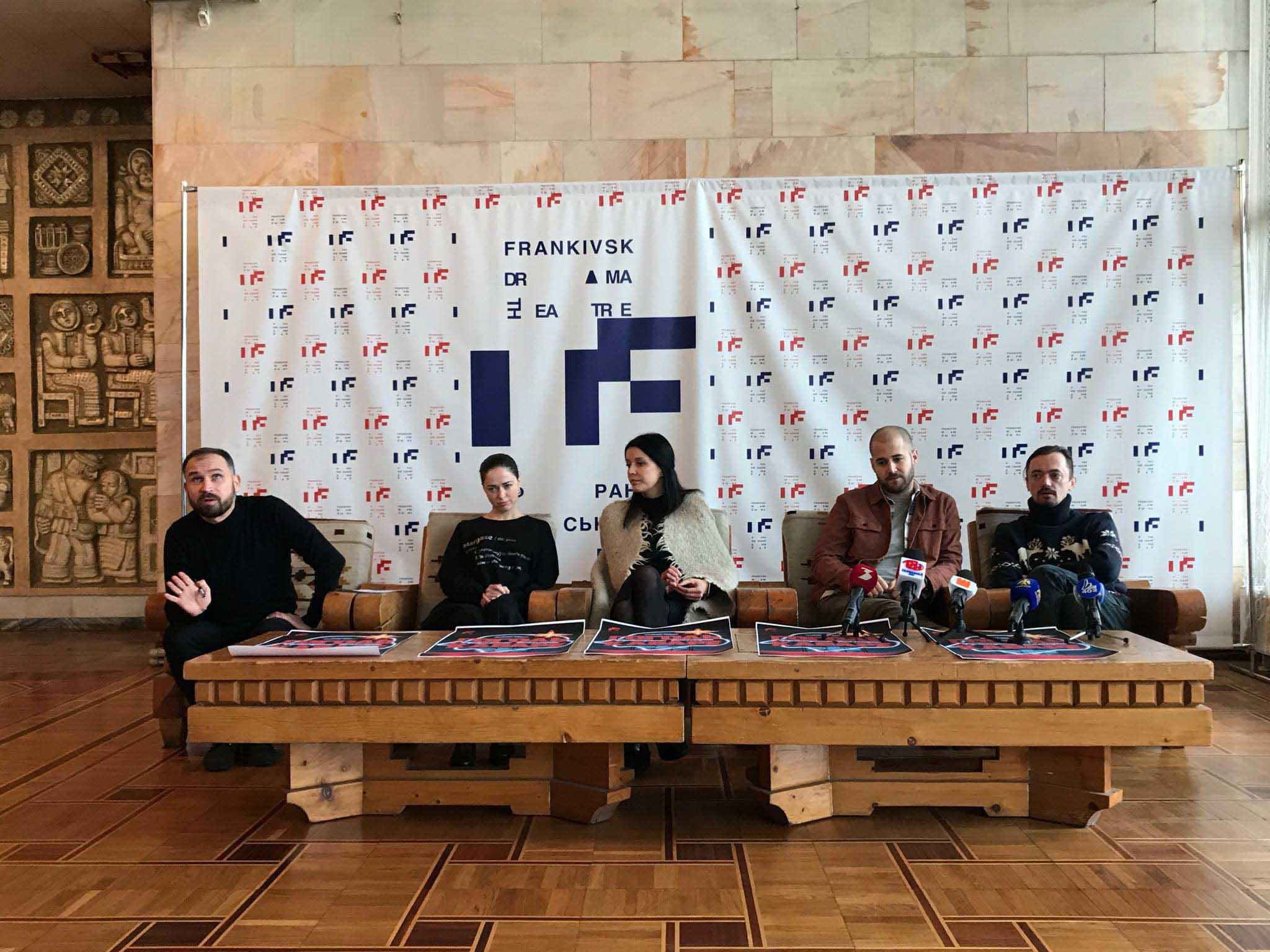 Нарешті прем'єра: франківський драмтеатр дивуватиме фрікнутою комедією «Гоголь кабаре» (ФОТО)
