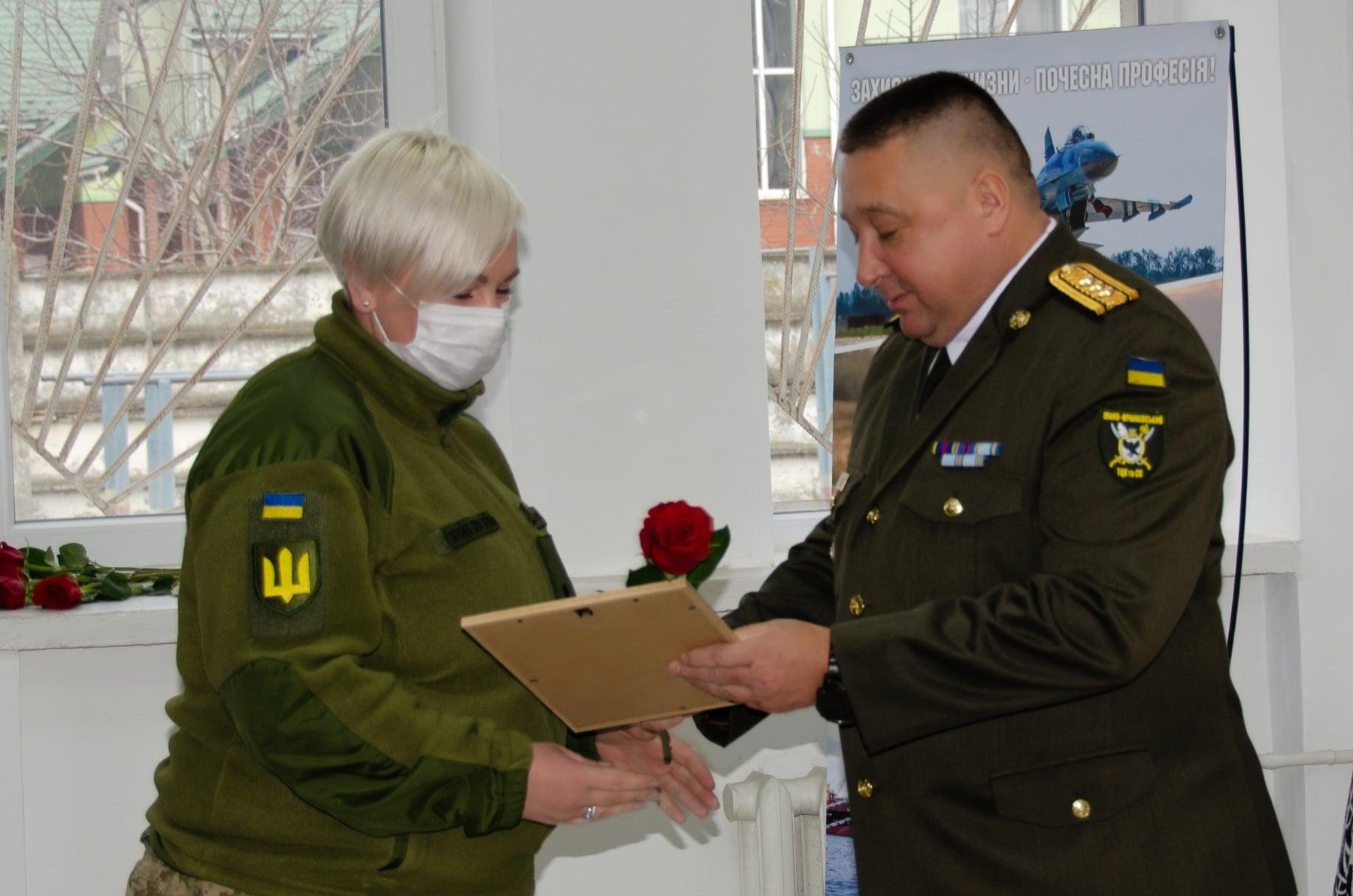 В обласному комісаріаті урочисто вітали військових з Днем ЗСУ (ФОТО)