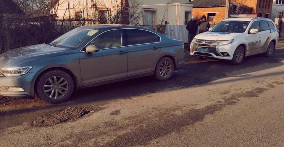 На Надвірнянщині з автомийки викрали машину (ФОТО)