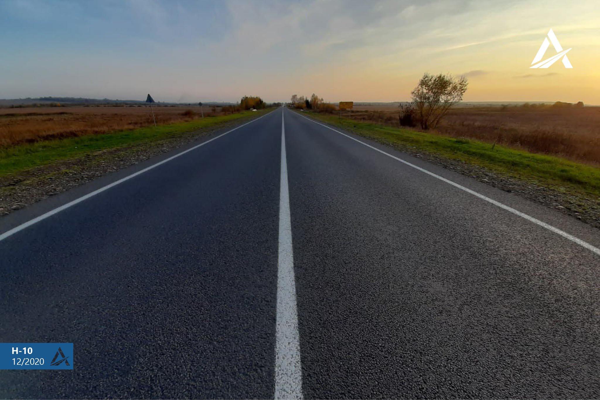 Вдвічі більше, ніж планували: цьогоріч Укравтодор відремонтував 35 км дороги Н-10 на Прикарпатті