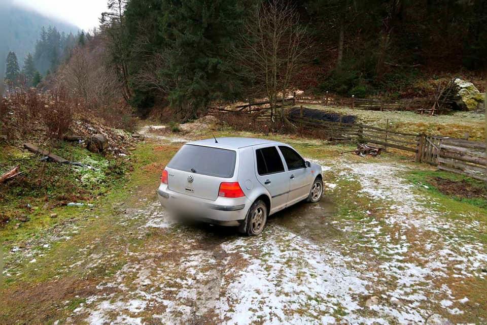 24-річний прикарпатець викрав автомобіль… втретє (ФОТО)