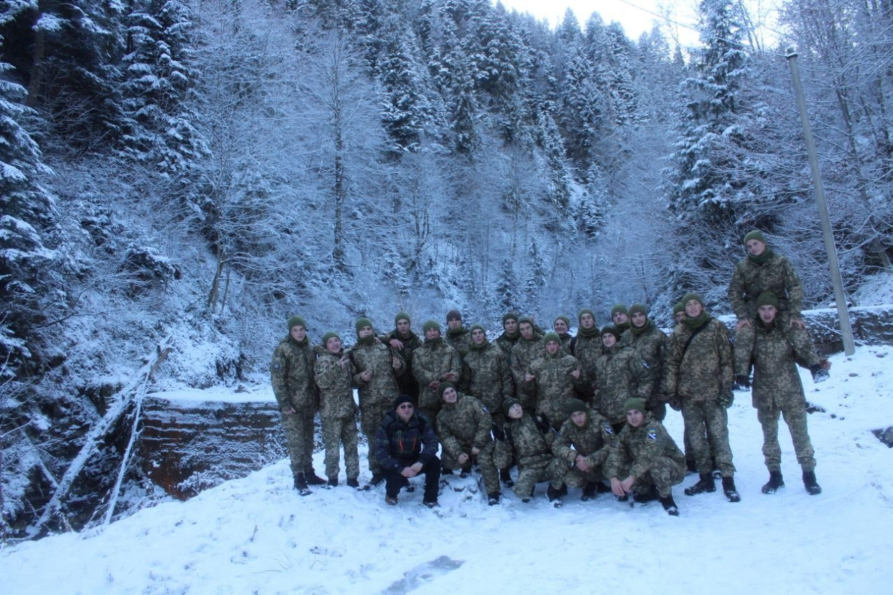 Авіатори провели військовий тур у Карпати (ФОТО)