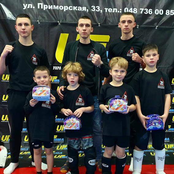 Юні іванофранківські бійці привезли медалі з турніру в Одесі (ФОТО)