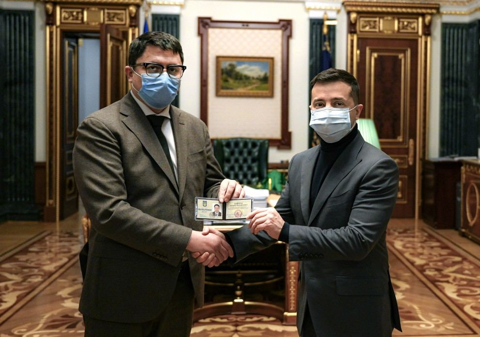 Зеленський призначив Андрія Бойчука головою Івано-Франківської ОДА (ФОТОФАКТ)