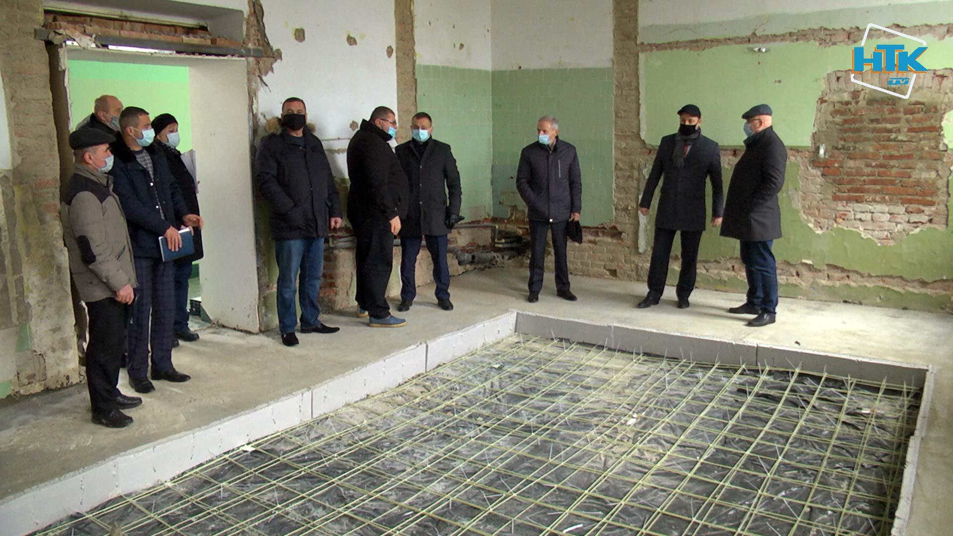 У центральній райлікарні Коломиї стартував ремонт (ВІДЕО)