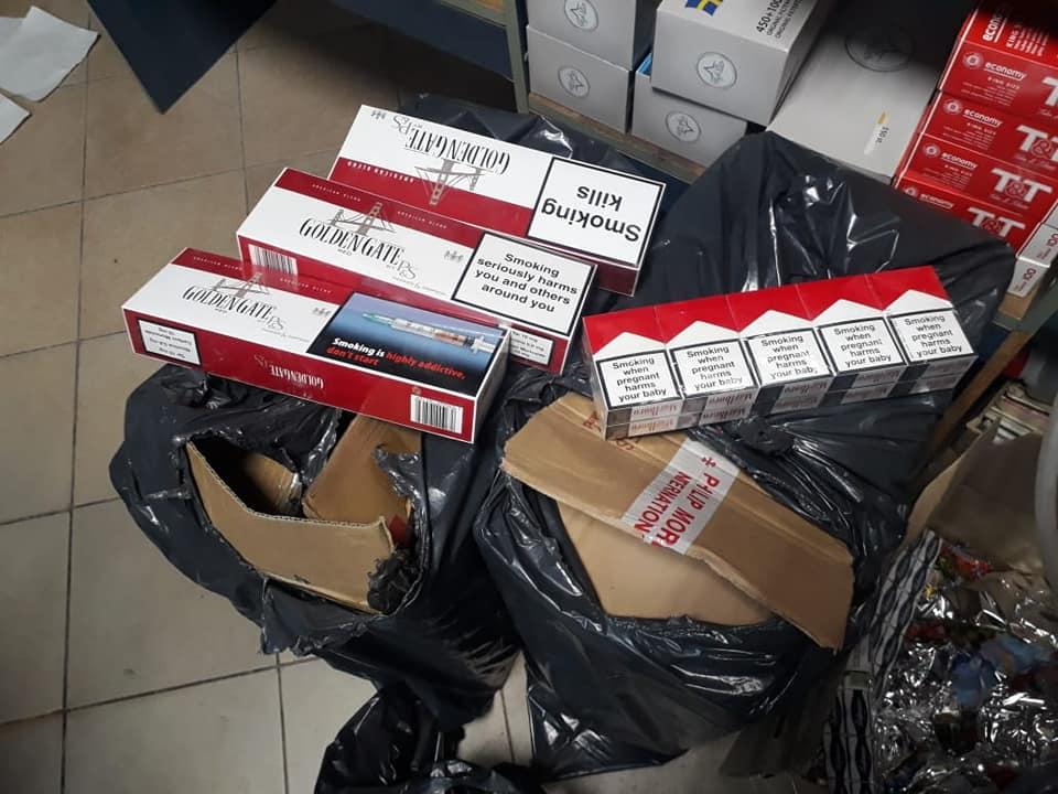 На Косівщині виявили незаконних сигарет на понад 100 000 гривень (ФОТО)