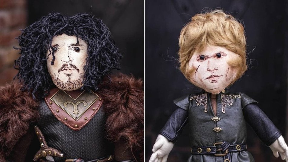 """Пара з Франківська створює лялькових персонажів із """"Гри престолів"""" і не тільки (ФОТО, ВІДЕО)"""