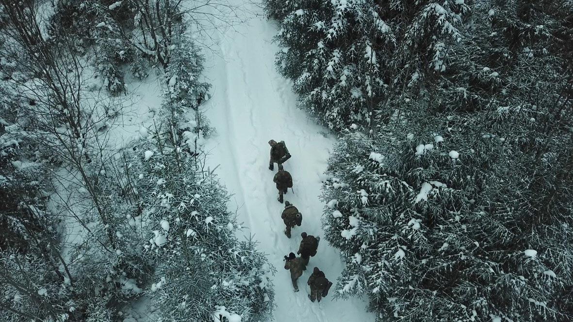 Як у Карпатах військові вчилися рятувати людей, що потрапили під лавину (ФОТО)