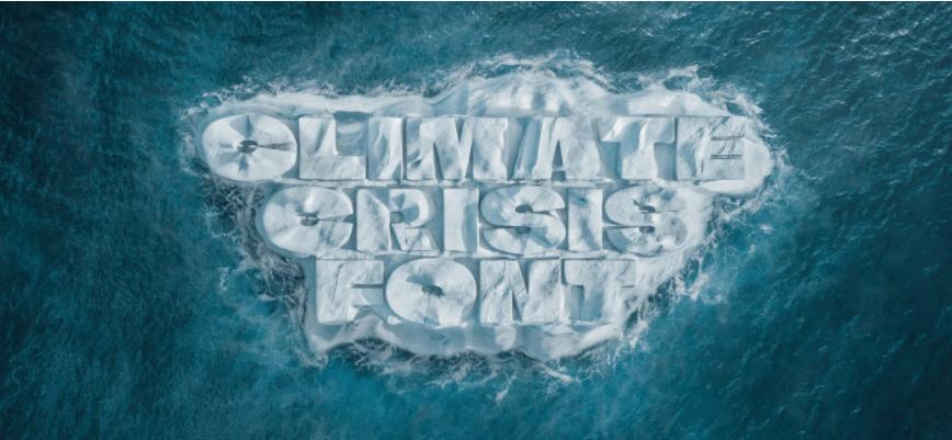 У Фінляндії створили шрифт, товщина літер якого відображає показники глобального потепління