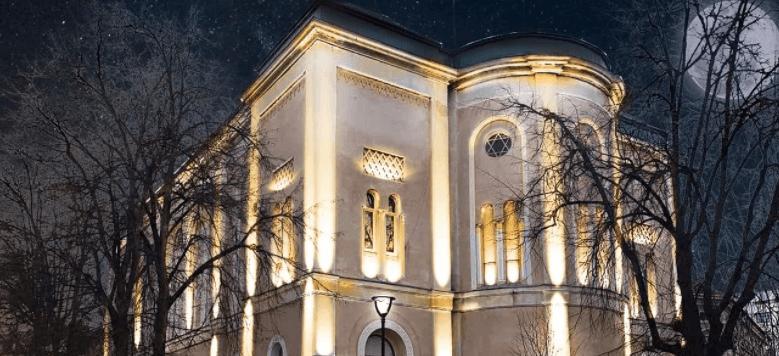 """За грантові кошти у Франківську підсвітять синагогу та створять """"єврейський"""" туристичний маршрут"""