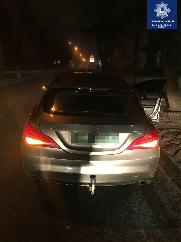 У Франківську знайшли автомобіль, який п'ять років тому вкрали у Німеччині