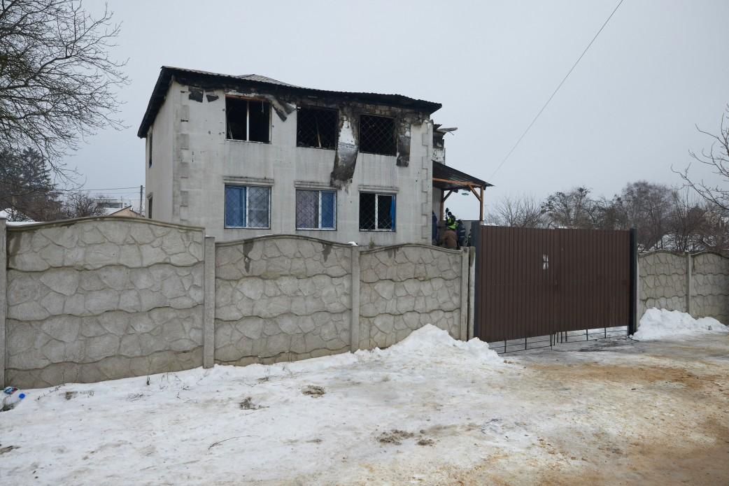 Пожежа в Харкові: Зеленський оголосив державний траур 23 січня