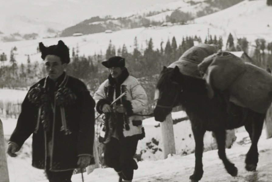Як гуцули проводили зимові дні 90 років тому (ФОТО)