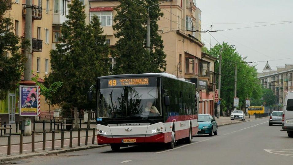 Віднині маршрут автобуса №49 курсує по-новому