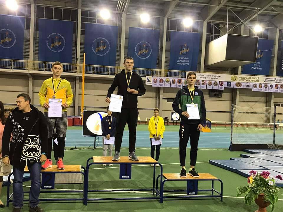Двоє франківських легкоатлетів – бронзові призери чемпіонату України (ФОТО)