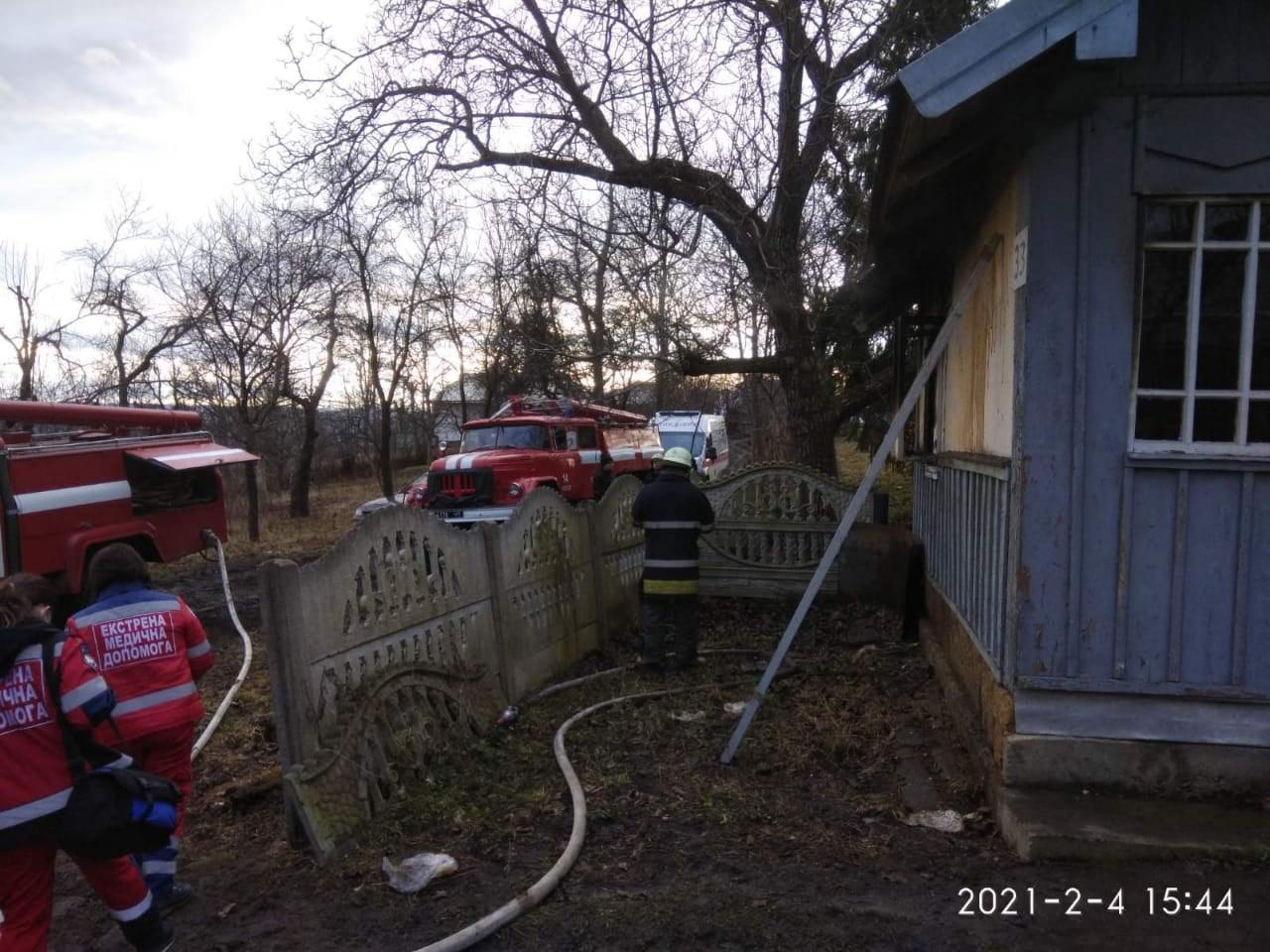 На пожежі на Косівщині виявили тіло господаря (ФОТО)