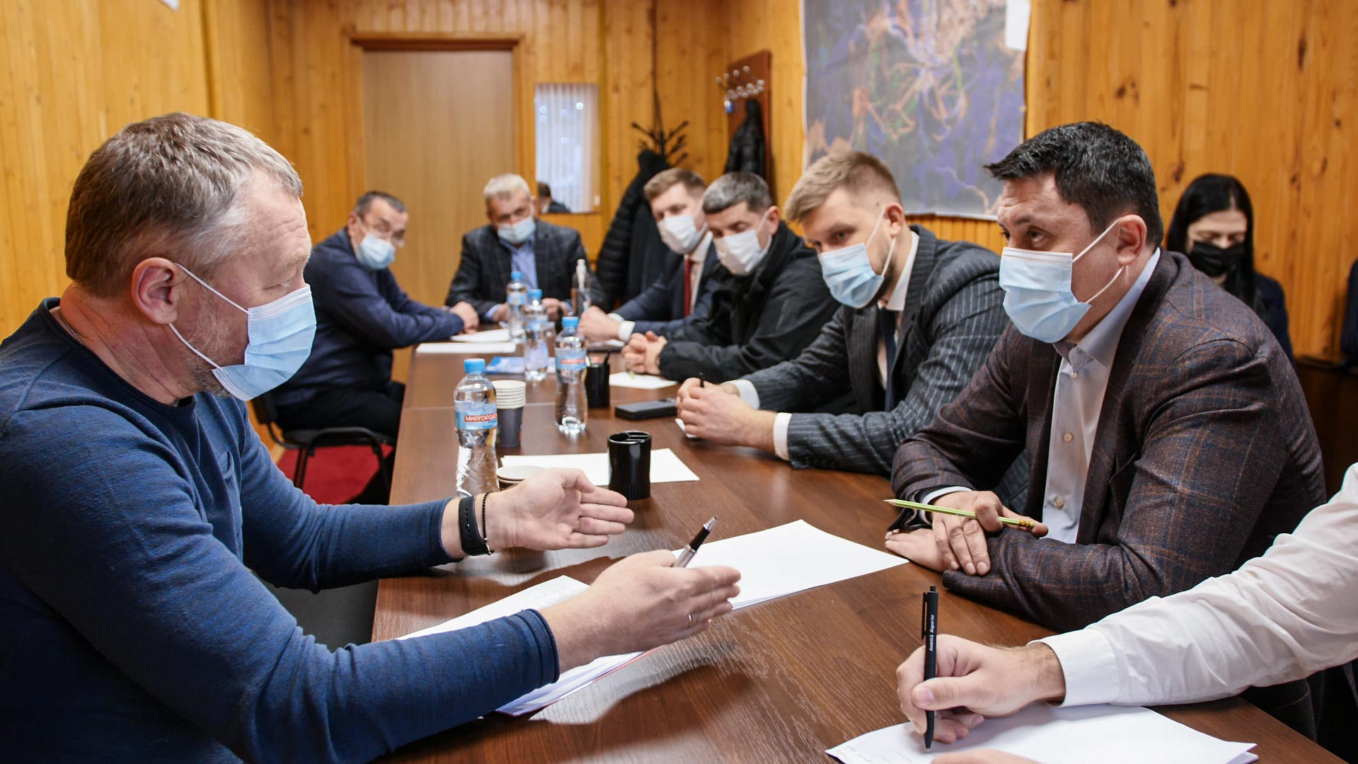 Голова ОДА особисто проінспектував карантин у Буковелі (ФОТОФАКТ)