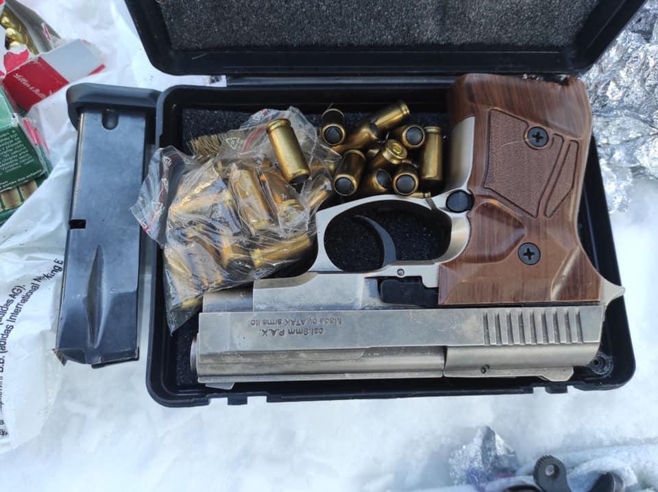 Калушанин зберігав арсенал незаконної зброї та боєприпасів (ФОТО)