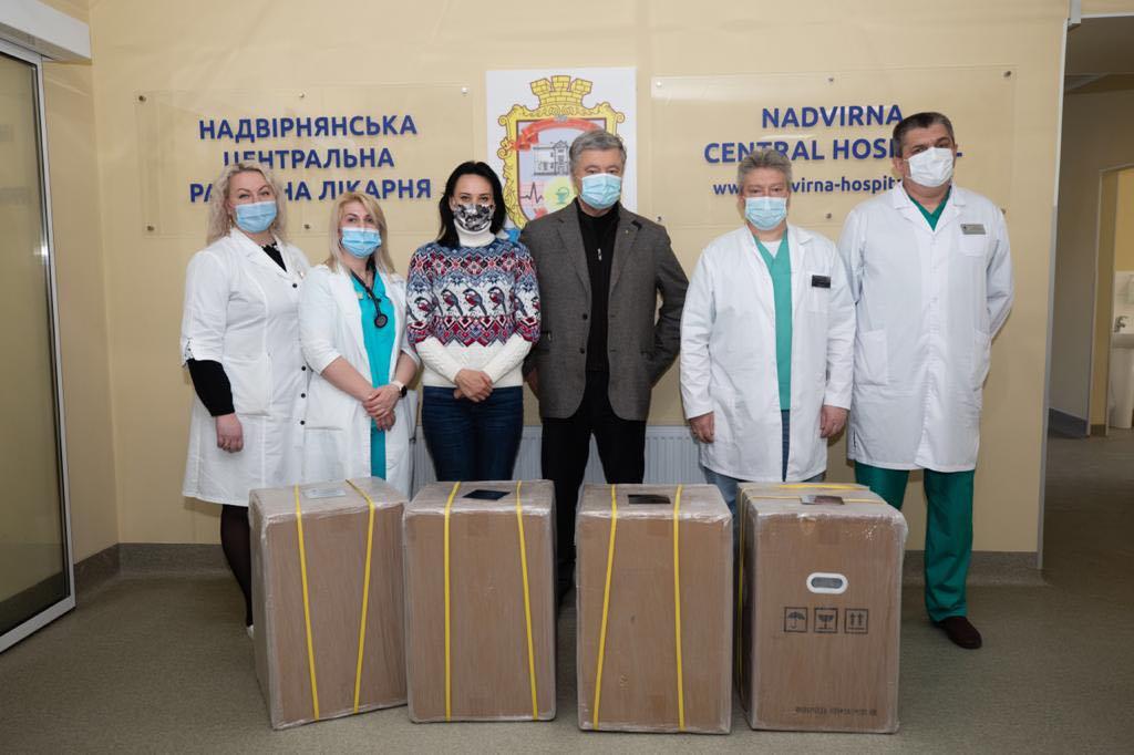 Лікарні Яремчі та Надвірної отримали кисневі концентратори (ФОТО)