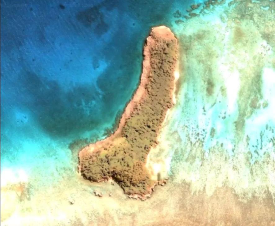 На Google-картах знайшли острів у формі пеніса (ФОТО)