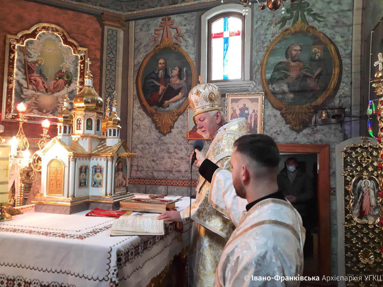 У Болехові відзначили 150-ліття храму Успіння святої Анни (ФОТО)