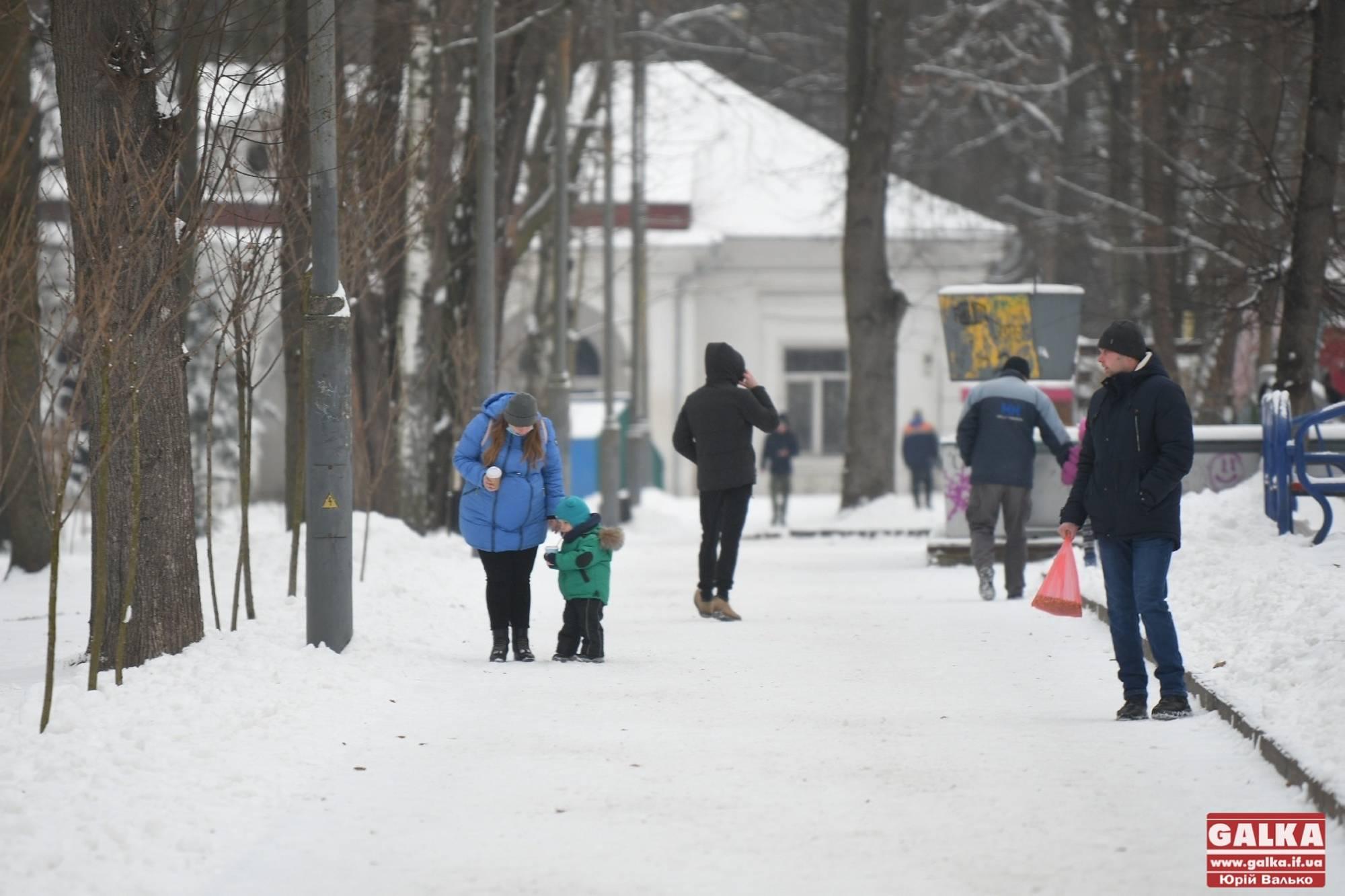 Зимова прогулянка міським парком на Шевченка (ФОТО)