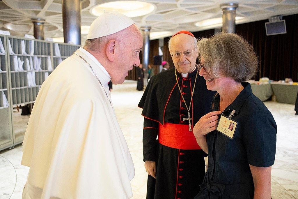 Вперше в історії Папа Римський призначив жінку на посаду в Синод єпископів