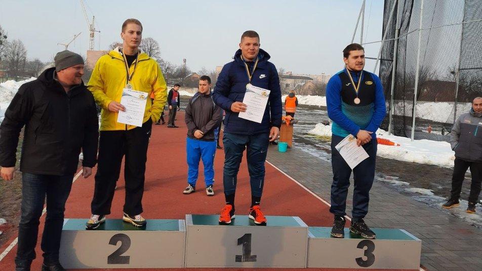 Шість медалей вибороли прикарпатські атлети на чемпіонаті України (ФОТО)
