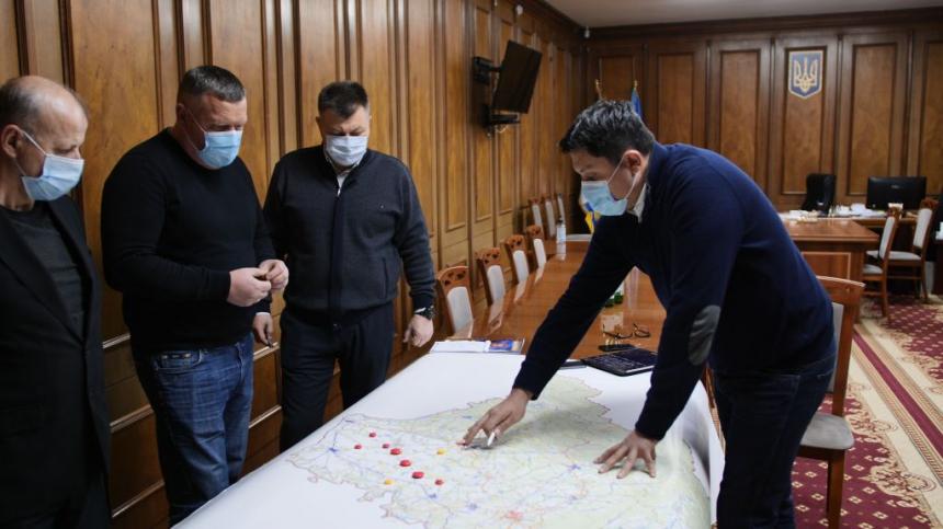 Область готується до негоди: голова ОДА Андрій Бойчук провів засідання оперативного штабу (ВІДЕО)