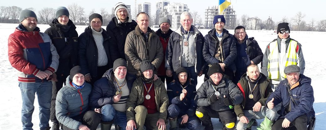 У Франківську провели змагання із зимової риболовлі для людей з порушенням слуху (ФОТО)