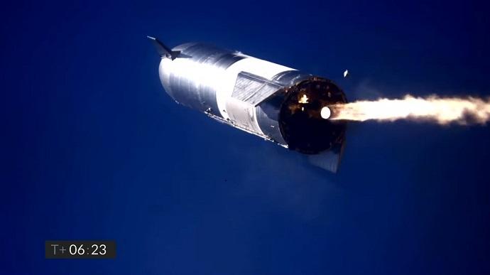 Прототип корабля для міжпланетних подорожей від SpaceX розбився при посадці (ВІДЕО)