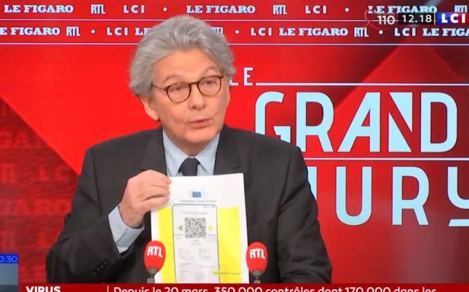 Євросоюз представив проєкт паспорта вакцинації