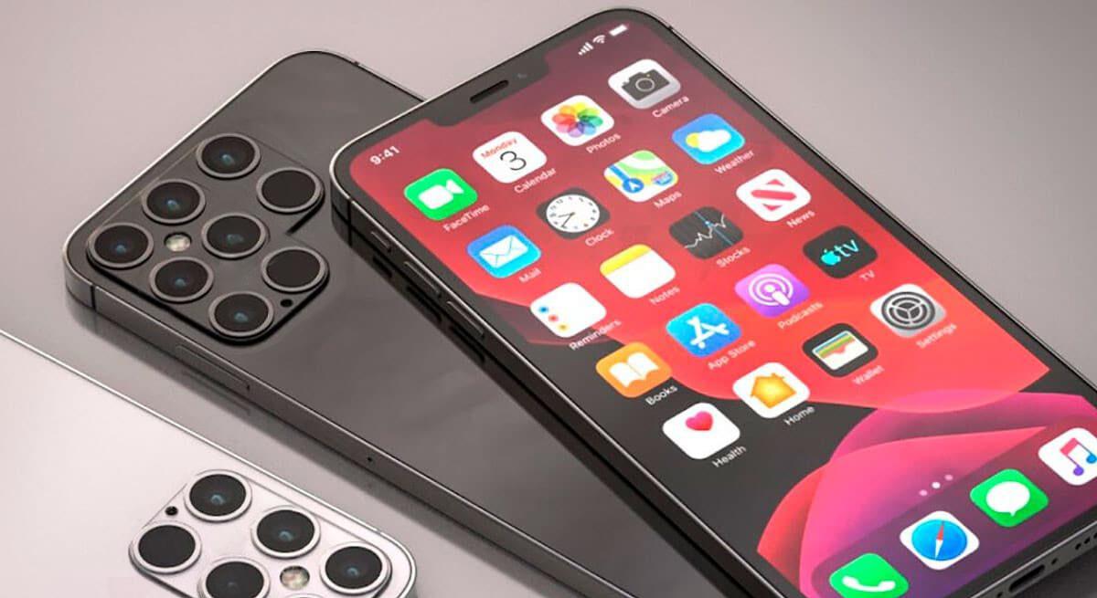 Восьмикамерний iPhone 13 зможе робити флюорографію